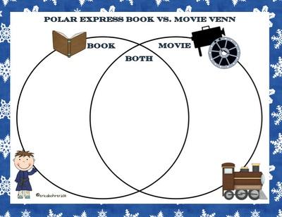 Polar Express Book Vs. Movie Venn