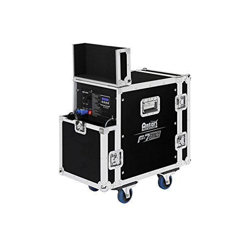 Antari F-7 Smaze | 5 liter Tank Capacity Self Cleaning Fog Faze Machine with Wireless 3 Channel DMX Control High Velocity Fan with Hard Case Coasters