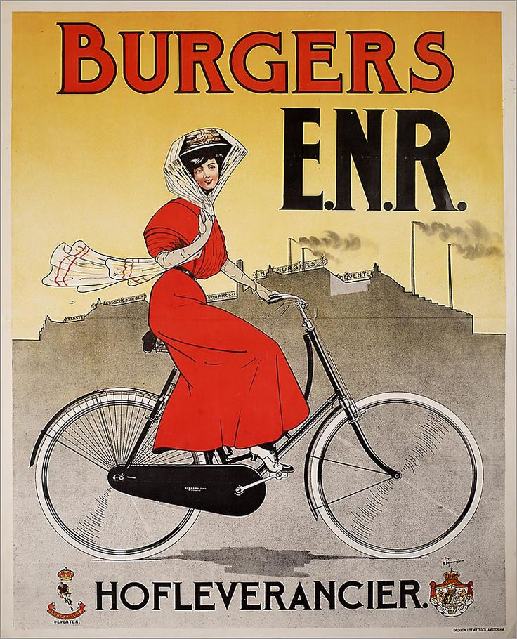 Burgers E.N.R. Bicycle advertisement