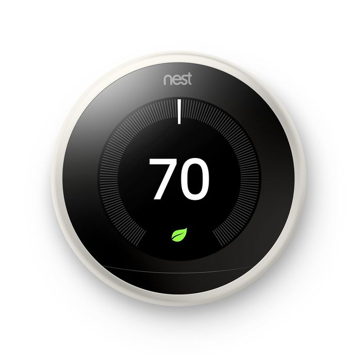 Nest Learning Smart Thermostat 3rd Generation Works Alexa | eBay