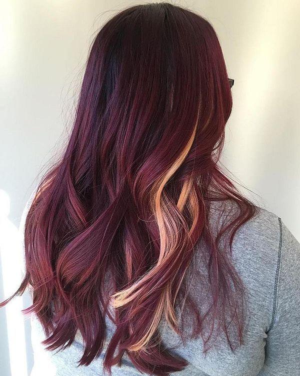 Burgundy Hair Color Ideas Best Hairstyles For Maroon Hair November 2019 Spring Hair Color Maroon Hair Burgundy Hair