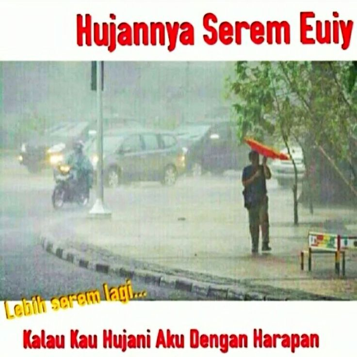 Hujannya serem...