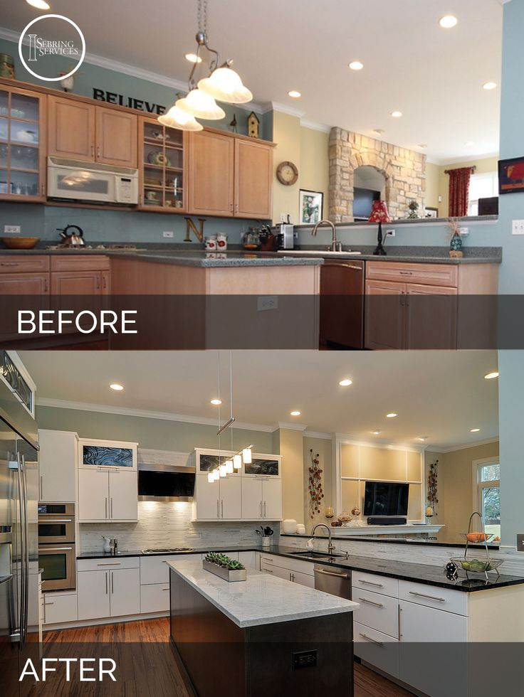 kitchen cabinet remodels doug amp natalie s kitchen before amp after pictures 2722