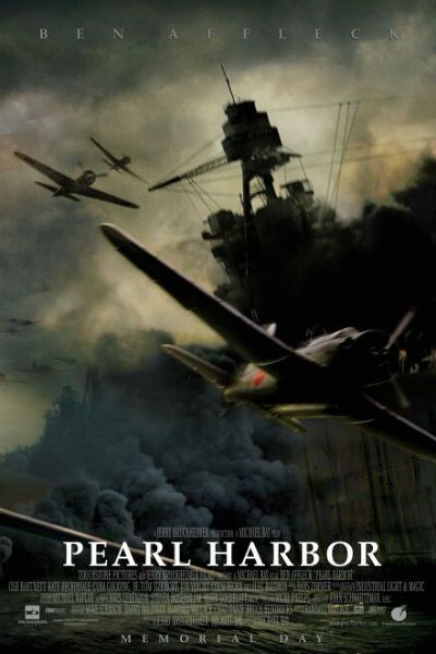 Director: Michael Bay Writer: Randall Wallace Stars: Ben Affleck, Kate Beckinsale, Josh Hartnett Genres: Action | Drama | History | Romance | War Pearl Harbor (2001) Watch Movie Pearl Harbor is a movie so spectacularly awful that it would be funny if it wasn't so infuriating. There hasn't been a big-budget re-enactment of the Pearl…Read more →