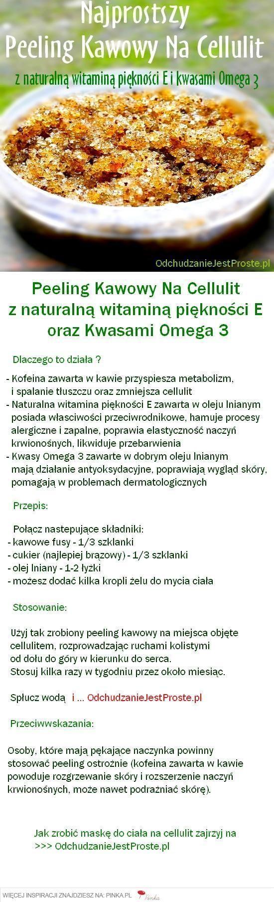 Peeling Kawowy na cellulit: