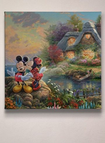 New Disney Gallery Wrapped Canvas