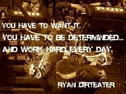 Stay tough. #Bull riding.