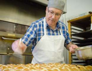Welcome to Rustic Sourdough Bakery.  Meet Jos Rehli, Owner and Swiss Master Baker and Master Pastry Chef