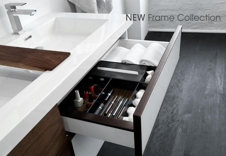 WETSTYLE's Frame collection, drawer organizer
