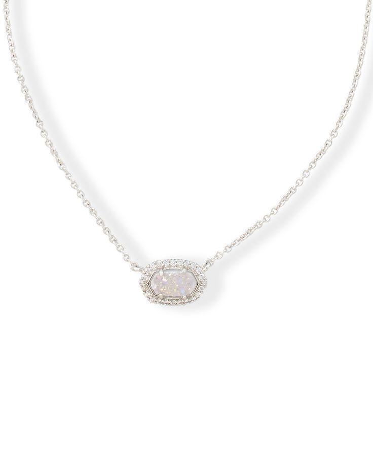 Chelsea Pendant Necklace in Silver - Kendra Scott Weddings.