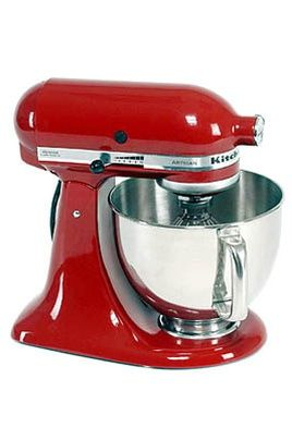 kitchenaid 5ksm150pseer artisan rouge imperial