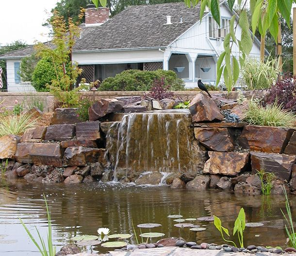 1000 images about waterfalls on pinterest backyard for Do it yourself fish pond
