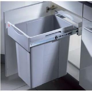 WASTE BIN- Hailo- 1 x 40 litre - Grey Bins Elraco.com.au $260.00
