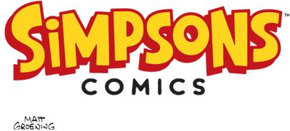 This is The Simpsons Comics. I really enjoy watching The Simpsons and I like the characters so reading the comics is just as enjoyable as watching the show.