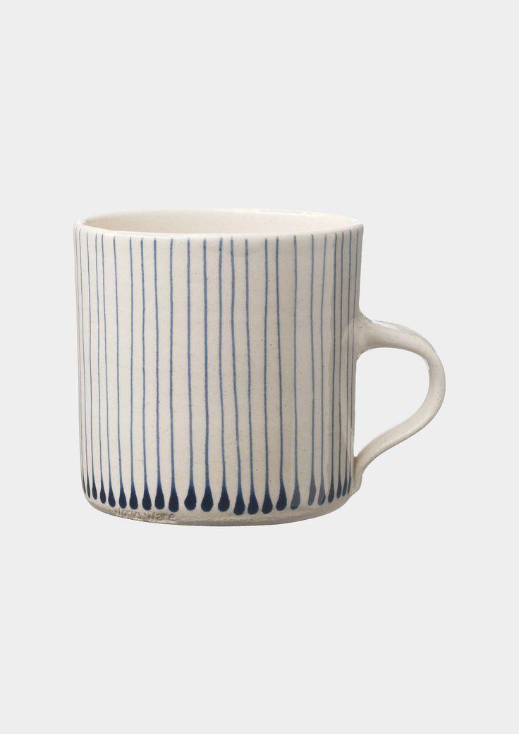 stripe drop mug