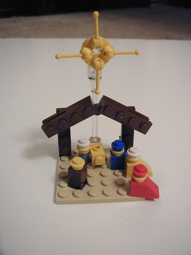 little lego nativity: I LOVE THIS! Looks like an activity for Sunday School!