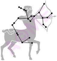 sagittarius star constellation - archer