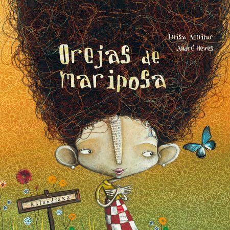 Orejas de mariposa, cuento orejas de mariposa, cuentos infantiles, Luisa Aguilar, cuentos para niños de 3 años