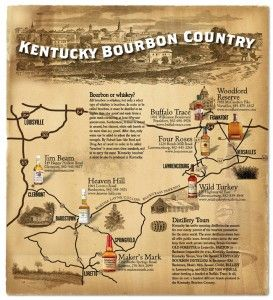bourbon trail driving map - Bing Images