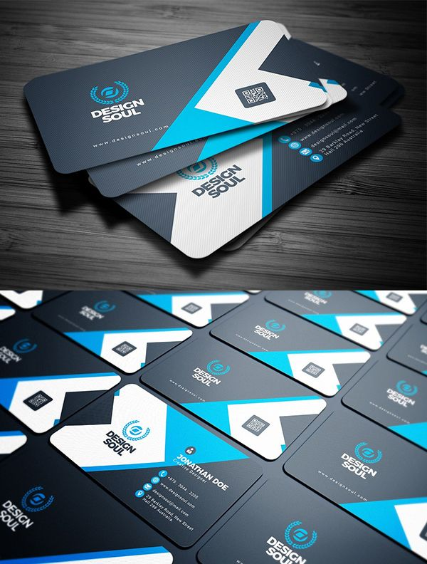 Creative Business Card PSD Templates (28 Print Ready Design)
