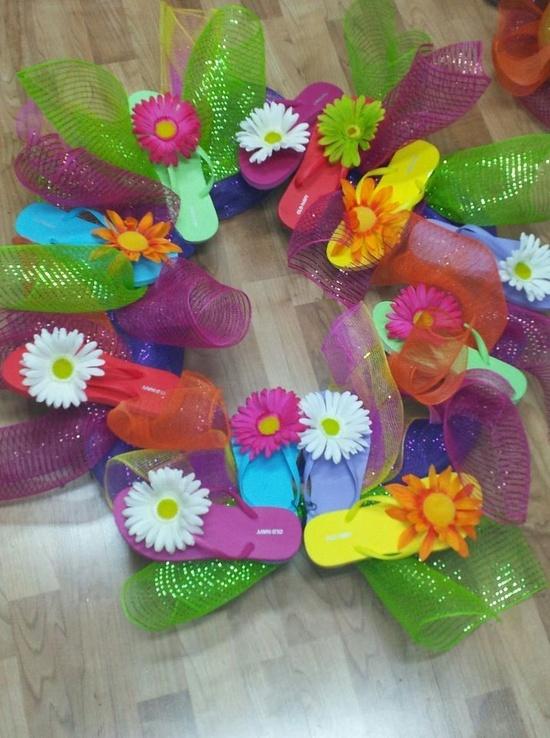 Flip flop craft ideas craft ideas flip flops pinterest for Flip flops for crafts