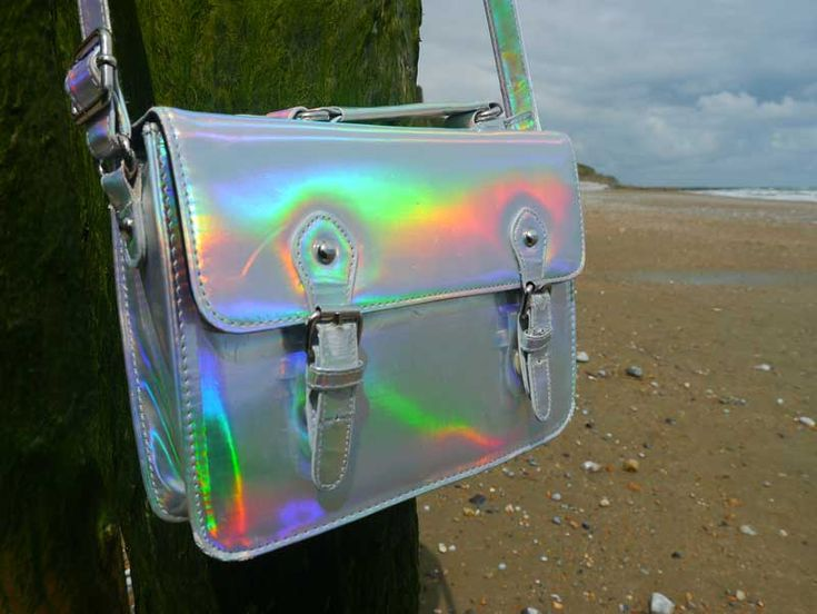 Holographic satchel by ASOS. Find out more at http://wightcatwalk.co.uk/space-bag/