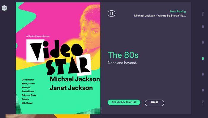 Taste Rewind es la nueva sección de Spotify para obtener listas de reproducción con fabulosos oldies