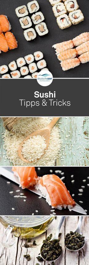 Schon mal Sushi selber gemacht?Aber wie koche ich den perfekten Sushi-Reis? Was brauche ich an Sushi-Geschirr? Und was trinke ich dazu? Alle Antworten dazu gibt es natürlich von uns und noch vieles Mehr!