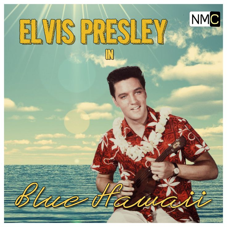 Soundtrack to the 1961 film Blue Hawaii, performed by and starring Elvis Presley