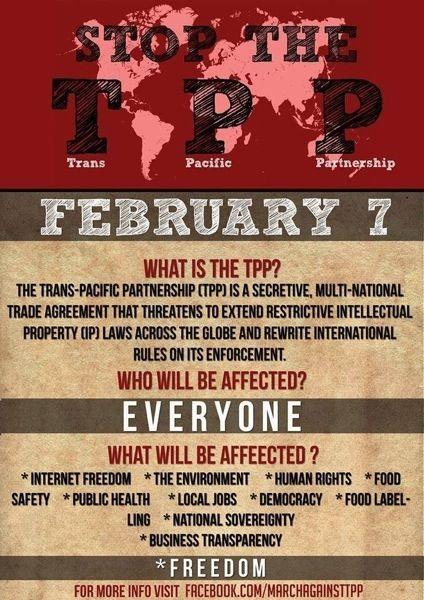 Trans pacific trade treaty-1669