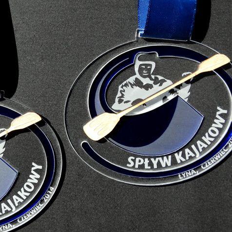Medal spływ kajakowy