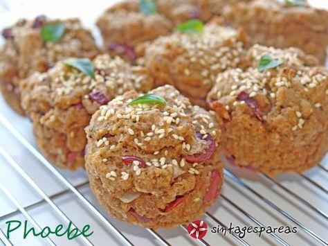 Muffins με ελιές #sintagespareas