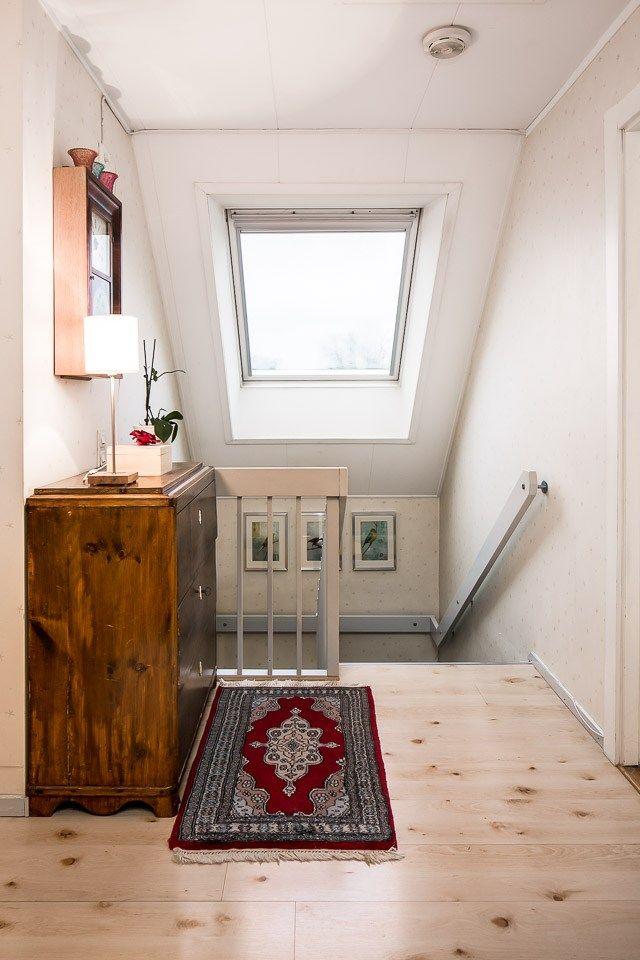 Trappa upp med takfönster