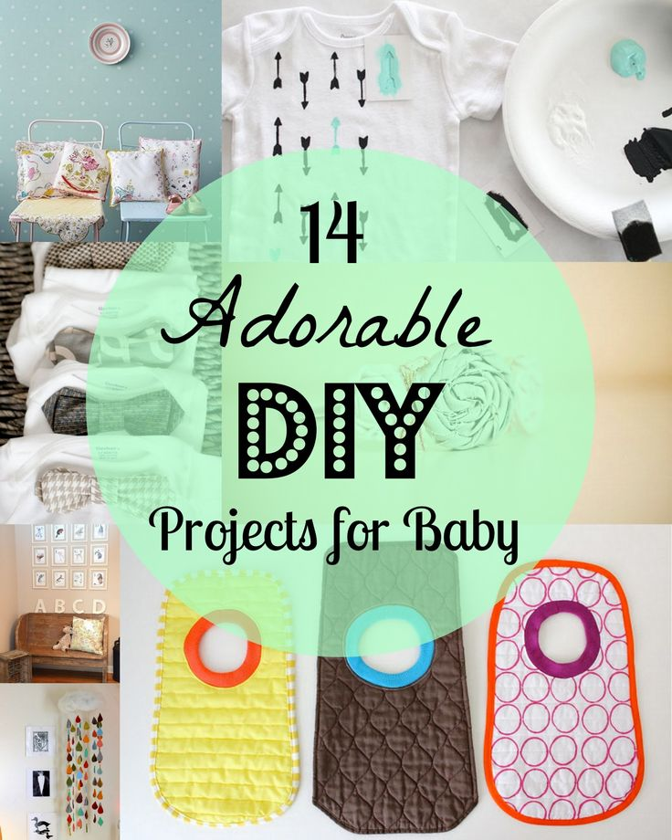 14 Adorable DIY Projects for Baby. Skirts and Headbands!
