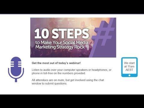 10 Ways to Make Your Social Media Marketing Rock - Webinar