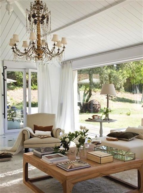 light and airy living room...