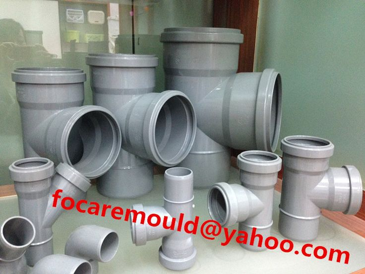 China famous supply PVC molds for pipeline fittings   #PVCmold #fittingmold #chinamold