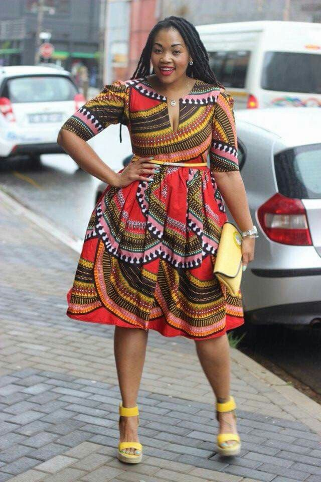 Plus size African attire