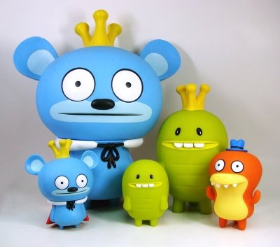 These are so ridiculous!    Limited edition Bossy Bear figures from the all new book Just Like Bossy Bear!!!
