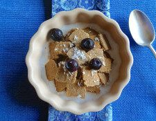 Cinnamon coconut crisps cereal-candida cleanse