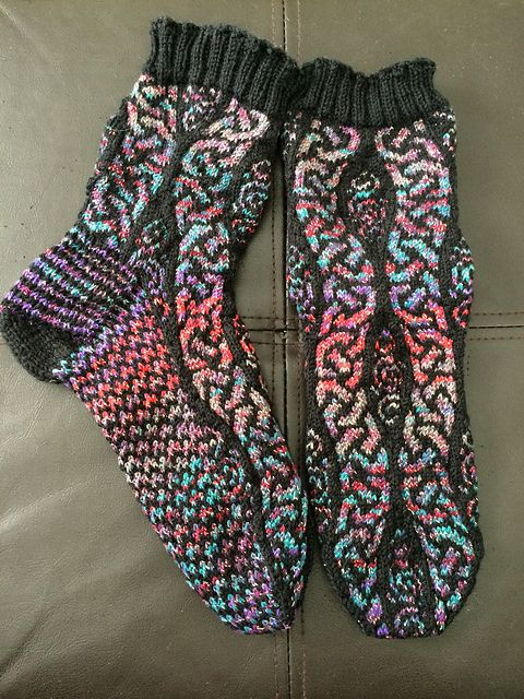 FREE - Ravelry: Project Gallery for Ancient Path Socks pattern by Jennifer Pattison