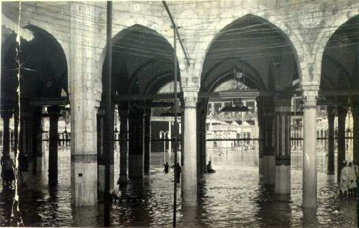 1941 flood in KABAA, amazing and rare pictures of Kaaba