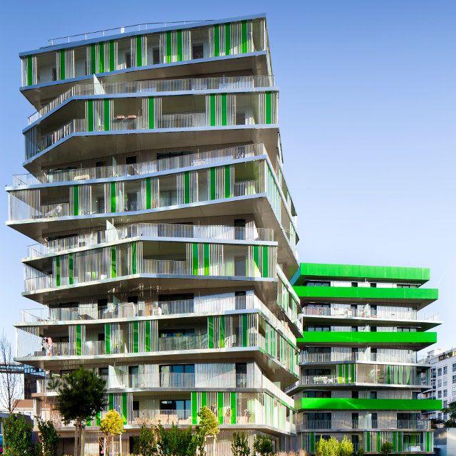 Bâtiment résidentiel à Paris | Références