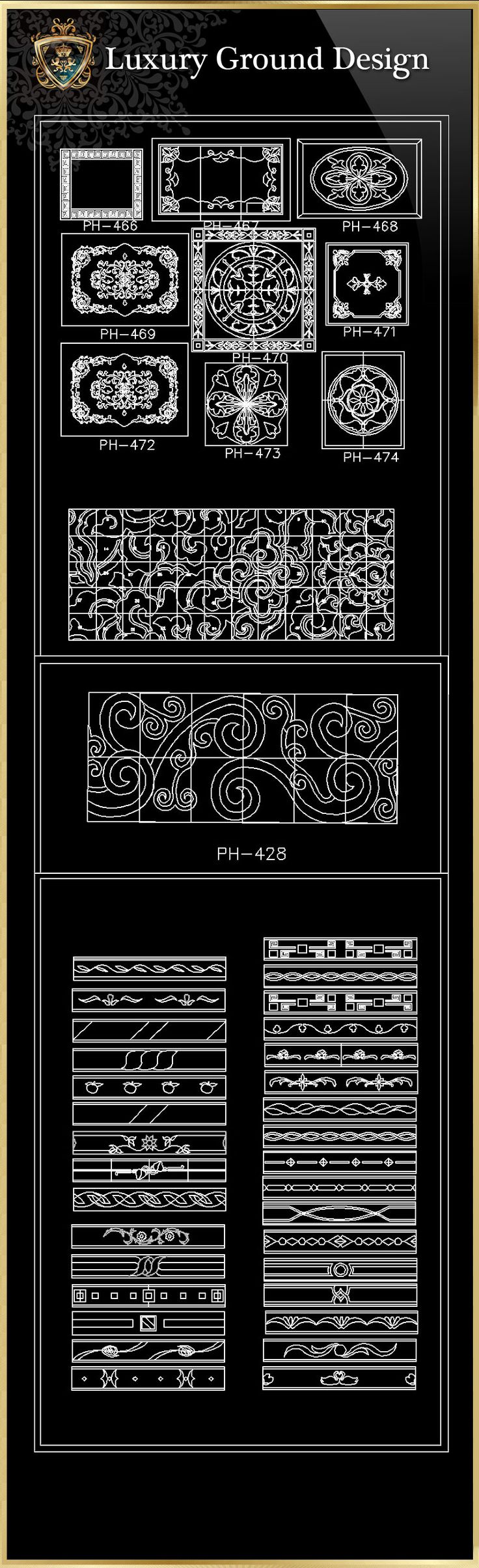 Luxury Ground Design CAD Blocks | Free Cad Blocks U0026 Drawings Download Center