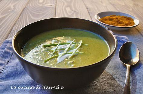 Vellutata di zucchine al curry http://blog.giallozafferano.it/lacucinadihanneke/vellutata-di-zucchine-al-curry/