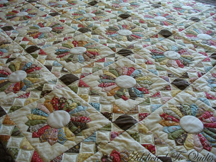Quilt Sashing Ideas Addicted To Quilts Dresden Plate