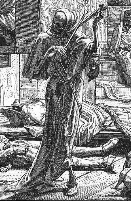 Death the Strangel - Alfred Rethel - 1831