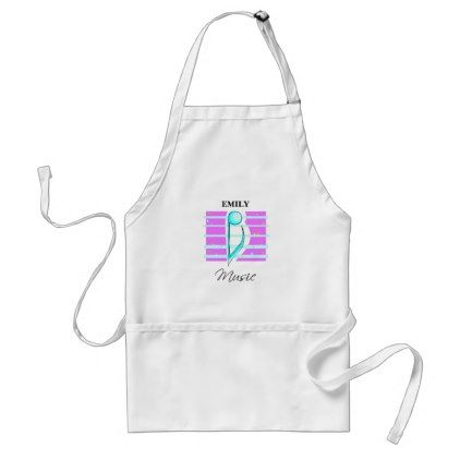 Congratulations Note Musical Performance Adult Apron - kitchen gifts diy ideas decor special unique individual customized