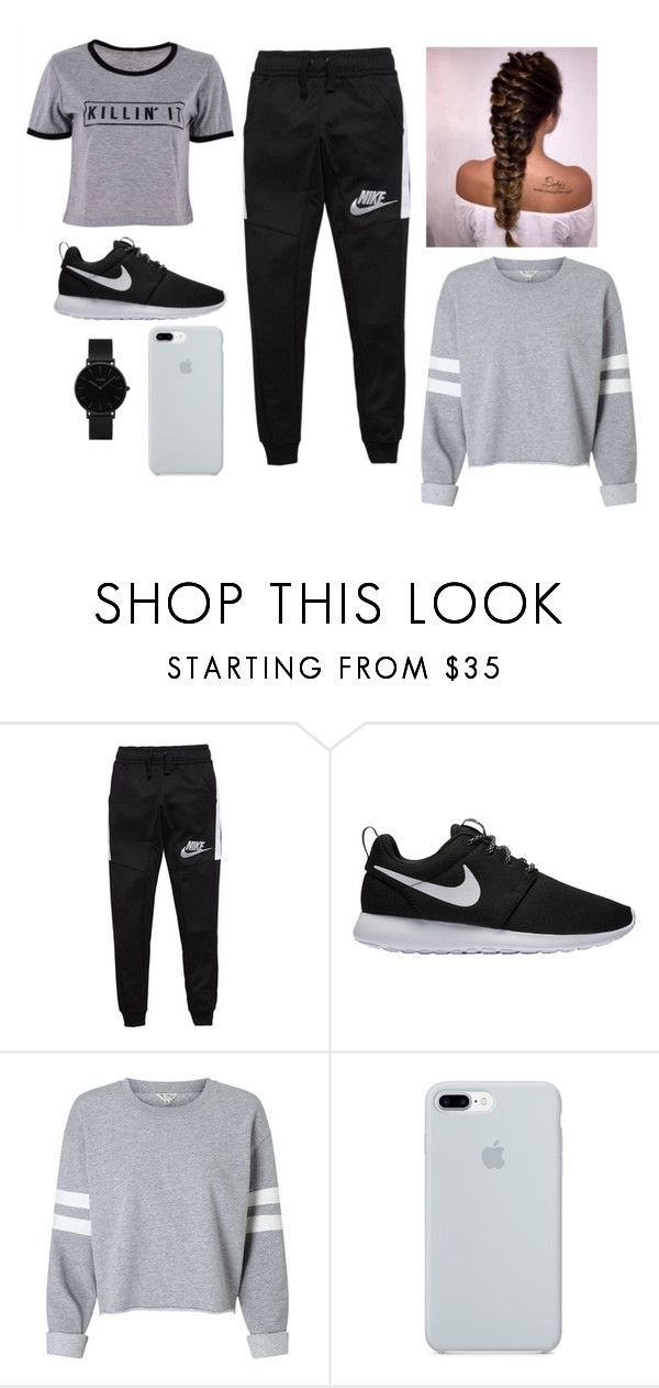 """18"" by francis-almonacid on Polyvore featuring moda, NIKE, ETUÍ y CLUSE"