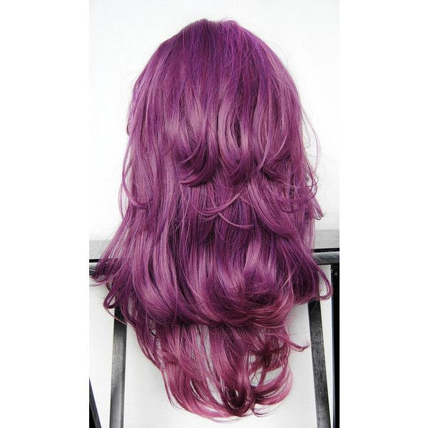SALE - PURPLE PLUM wig // Purple Reverse Ombre Hair ...